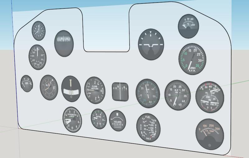 Cockpit Sketchup