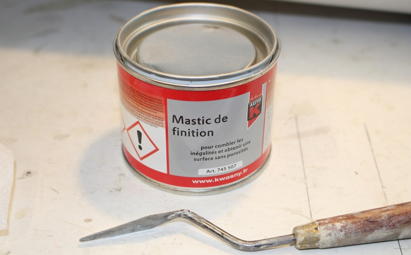 Mastic de finition